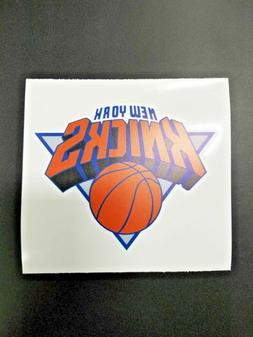 New York Knicks Cornhole Board Decal NBA Logo Car Vehicle St