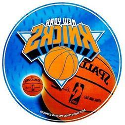 "New York Knicks Decal 4"" Round Vinyl Auto Home Window Bumper"