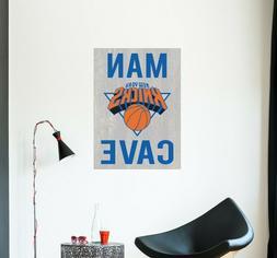 New York Knicks Decal NBA Logo Vinyl Sport Basketball Man Ca