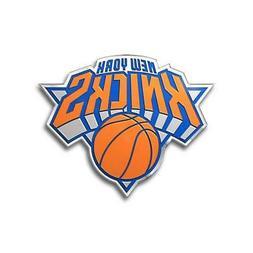 New York Knicks Die-Cut Metal Auto Emblem  NBA Car Decal Sti