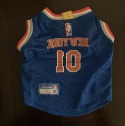 New York Knicks Dog Jersey NBA PET WEAR Size S/M
