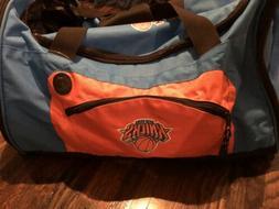 New York Knicks DUFFLE BAG Sports Luggage Gym Shoulder Strap