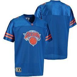 New York Knicks G-III Sports by Carl Banks Football Jersey -