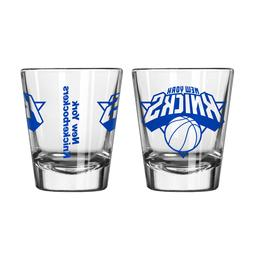 new york knicks game day shot glass