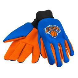 New York Knicks Gloves Sports Logo Utility Work Garden NEW C