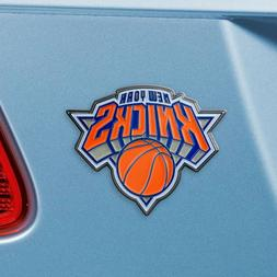 New York Knicks Heavy Duty Metal 3-D Color Auto Emblem