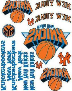 New York Knicks Iron On T Shirt Pillowcase Fabric Transfer S