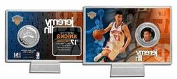 New York Knicks Jeremy Lin Highland Mint Coin with Stand