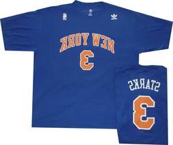 New York Knicks John Starks Adidas Throwback Oversized Shirt