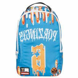 New York Knicks Kristaps Porzingis Sprayground School Backpa