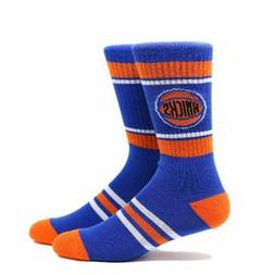New York Knicks Large Royal Blue Orange Crew Socks RJ Barret