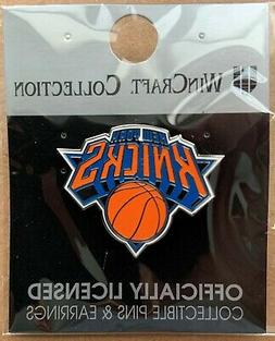 NEW YORK KNICKS LOGO LAPEL COLLECTOR PIN NEW WINCRAFT
