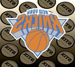 New York Knicks Logo NBA Die Cut Vinyl Sticker Car Window Ho