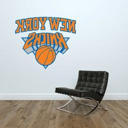 New York Knicks Logo Wall Decal NBA Basketball Decor Sport A