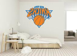 New York Knicks logo Wall Decal for Home Interior Decoration