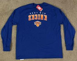 NBA New York Knicks Long Sleeve Shirt Size 2XL New