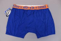 New York Knicks Men's Concepts Sport Boxer Brief Underwear S