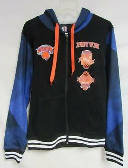 New York Knicks Mens Size Small or X-Large Full Zip Hoodie S