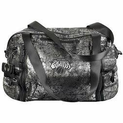 New York Knicks Metallic Weekender Duffel Bag