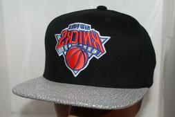 New York Knicks Mitchell & Ness NBA Cracked Iridescent S  Sn