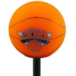 """NEW YORK KNICKS NBA 2"""" BASKETBALL LOGO PENCIL ANTENNA TOPPER"""