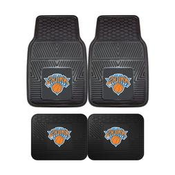 New York Knicks NBA 2pc and 4pc Mat Sets - Heavy Duty-Cars,
