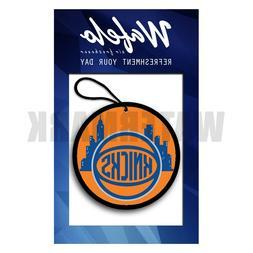 New York Knicks NBA Wafelo Air Freshener Hanging Car and Hom