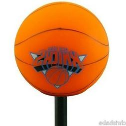 NEW YORK KNICKS NBA ANTENNA OR PENCIL TOPPER W/ DANGLER CORD