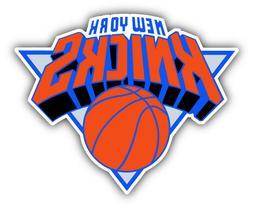 New York Knicks NBA Basketball Ball Car Bumper Sticker Decal