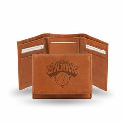 New York Knicks NBA Embossed Leather Trifold Wallet ~ New