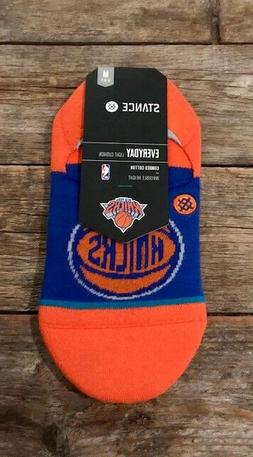 Stance New York Knicks NBA Everyday No Show Socks Size Mediu