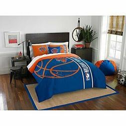 """Northwest New York Knicks NBA Full Set Soft & Cozy 76"""" x 86"""""""