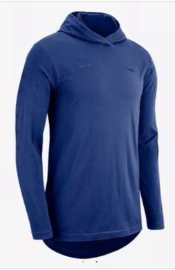 Nike New York Knicks NBA Men's Hooded Long Sleeve Top T-shir