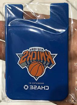 New York KNICKS NBA Silicone Credit Card Sleeve Cell Phone P
