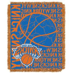 New York Knicks NBA Triple Woven Jacquard Throw