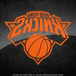 "New York Knicks NBA Vinyl Decal Sticker - 4"" and Larger- 30+"