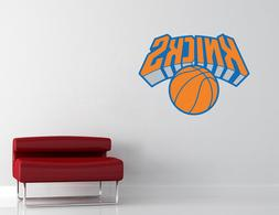 New York Knicks NBA Wall Decal Vinyl Sticker Decor Basketbal