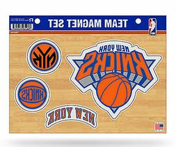 New York Knicks NY Multi Die Cut Magnet Sheet Auto Home NBA