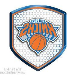 New York Knicks NY SHIELD Reflector Emblem Decal Basketball