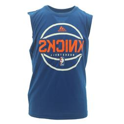 New York Knicks Official NBA Adidas Kids Youth Size Athletic