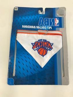 "Pets First New York Knicks Pet Bandana Collar, Small Fits 8"""