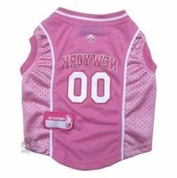 New York Knicks Pink Pet Jersey