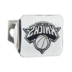 New York Knicks Premium Metal Chrome Hitch Cover Bumper Trai
