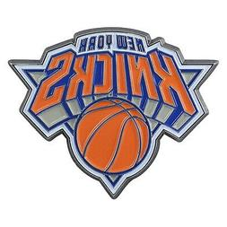 New York Knicks Premium Solid Metal COLOR Auto Emblem Raised
