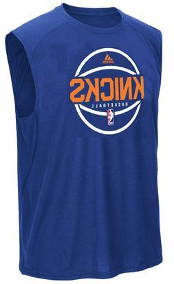 New York Knicks Adidas Royal Pre-Game Ultimate Synthetic Sle