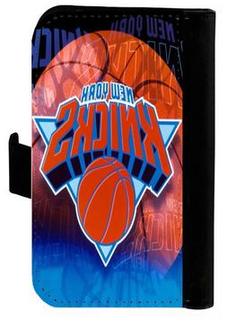 NEW YORK KNICKS SAMSUNG GALAXY & iPHONE CELL PHONE CASE LEAT