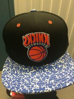 New York Knicks School Notebook Snapback Cap Hat NBA NY Mitc