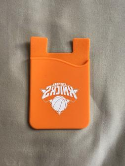 New York Knicks Silicone ID/Credit Card Holder Case for Cell