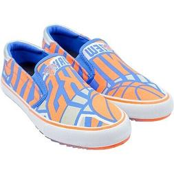 New York Knicks Slip-On Canvas Shoes - Blue