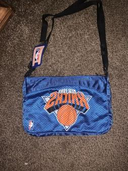 NBA New York Knicks Small Blue Jersey Hand Bag/tote With Tea